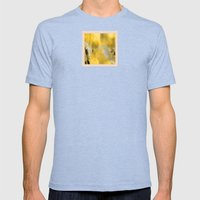 Old-School Orchard Mens Fitted Tee Tri-Blue SMALL