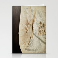 Myths, Flowers Stationery Cards