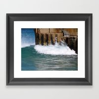 Sea Wall Framed Art Print