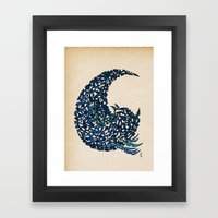 - 15 wave - Framed Art Print