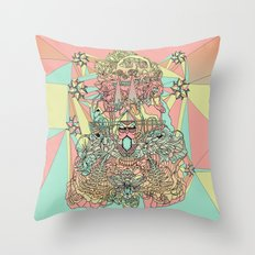 The Functioning Parts Throw Pillow