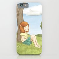 iPhone & iPod Case featuring Being Katharine Hepburn by Amanda Francey