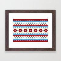 RIP Pattern Framed Art Print