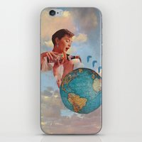 The World Needs Something iPhone & iPod Skin