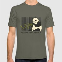 MADE IN CHINA Mens Fitted Tee Lieutenant SMALL