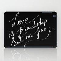 LOVE & FIRE iPad Case