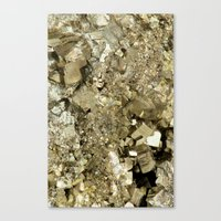 A Golden Fool Canvas Print
