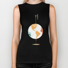 Fill your world with colors Biker Tank