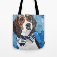 Earl the Hound Pup Tote Bag