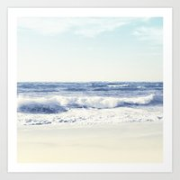North Shore Beach Art Print