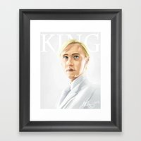 Draco At King's Cross Framed Art Print