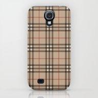 Burberry Plaid - Like De… Galaxy S4 Slim Case