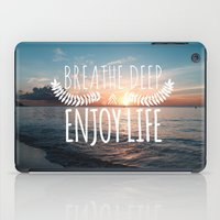 Hawaii sunset iPad Case