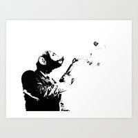 Thought Police 2 Art Print