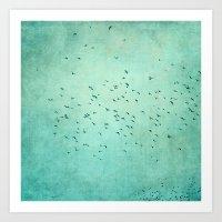 Birds IV Art Print
