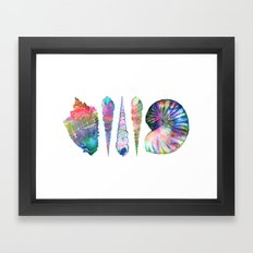 SEASHELL LOVE I Framed Art Print