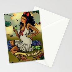 Tattoo Virgo Stationery Cards