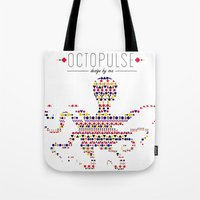 Octopulse | Design By Se… Tote Bag