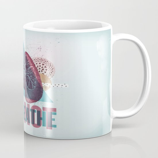 TRY NOT TO BREATHE Mug
