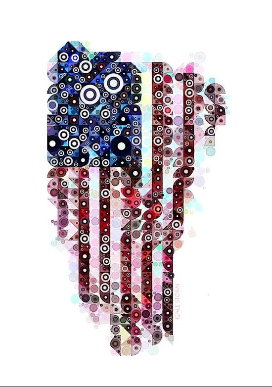 :: Star Spangled Banner :: Art Print