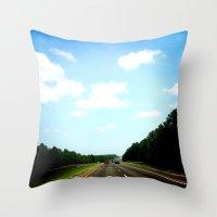 Country Texas Throw Pillow