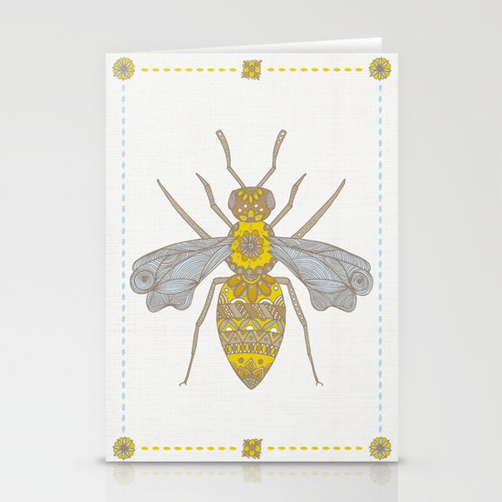 Mr Bee Stationery Card