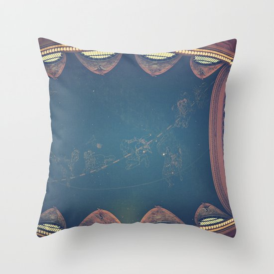 Into The Heavens  Throw Pillow