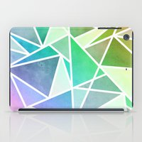 Rainbow Fractal  iPad Case