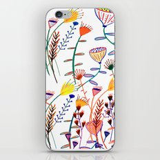 Flowers - floral - flowers - pattern  iPhone & iPod Skin