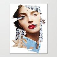 Make Me Beautiful   Coll… Canvas Print