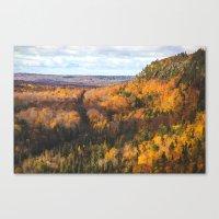 Cliff Drive Canvas Print
