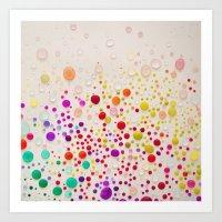 Colorful  Art Print