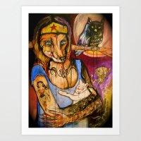 Of The Fox Confessor On … Art Print