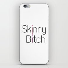 Skinny Bitch iPhone & iPod Skin