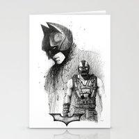 Bat In Black (The Dark K… Stationery Cards