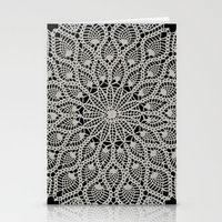 Delicate - Silver Stationery Cards