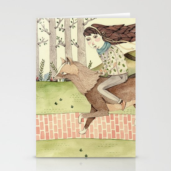 Seeking Home Stationery Card