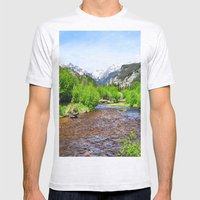 Estes Park Mens Fitted Tee Ash Grey SMALL