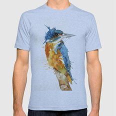 Mr Kingfisher Mens Fitted Tee Athletic Blue SMALL