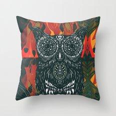 Forest Folk Throw Pillow