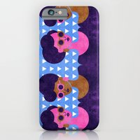 iPhone & iPod Case featuring Girls in Purple and Sunglasses by The Pairabirds