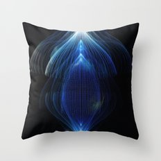 Generative Prints - #001 Throw Pillow