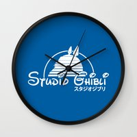 Studio Ghibli. Wall Clock