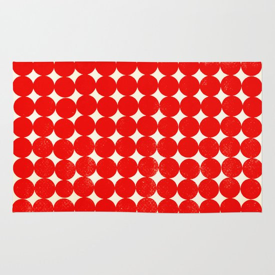Unity Red Area & Throw Rug