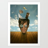 Surreal Thoughts Art Print