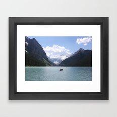 Lake Louise, Canada (2012) Framed Art Print