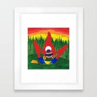 Nothing Like Camping... Framed Art Print