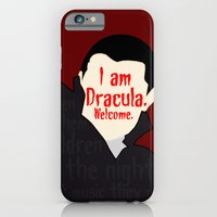 iPhone & iPod Case featuring Dracula by Swell Dame