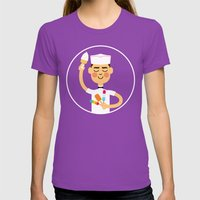 Taste of Summer Womens Fitted Tee Ultraviolet SMALL