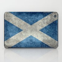 National Flag Of Scotlan… iPad Case